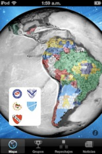 "Mobile App with Social Networks integration, that gathered information about the 2011 edition of the most important Soccer Tournament in America: ""Copa Libertadores de América""."