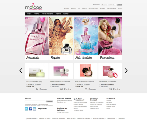 GeoLoyalty E-Commerce Home Page