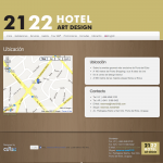 Ubicación | 2122 Hotel Art Design