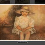 irene-maruiello.com Pintura El Sombrero de Mama