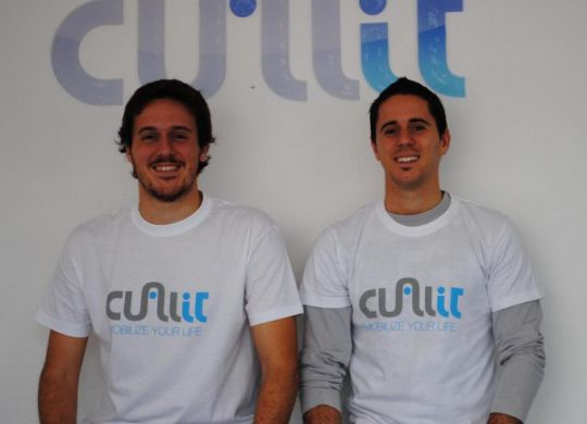 Cualit founders - Federico and Martín Pérez