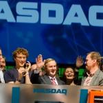 Speakers Nasdaq Opening Bell Irish Prime Minister Enda Kenny