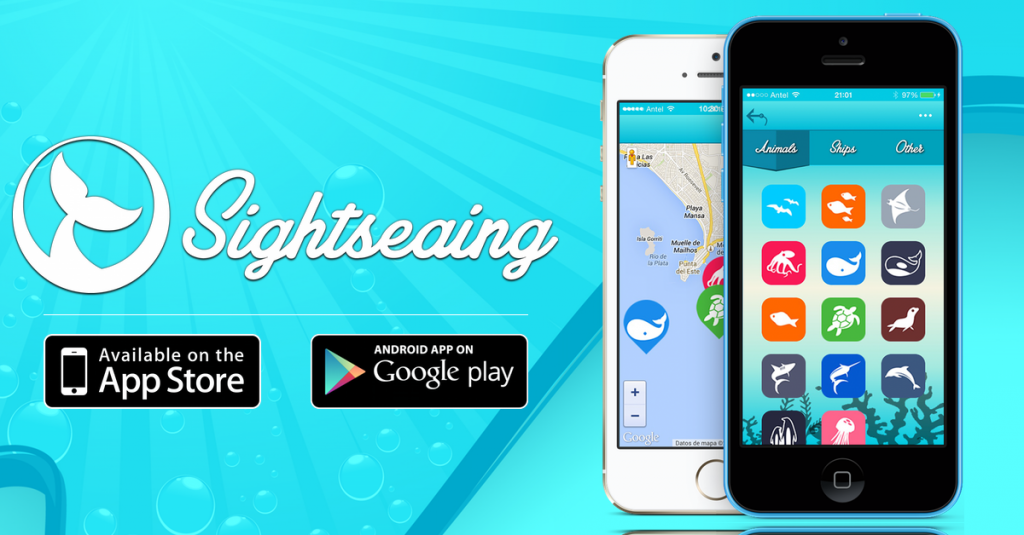Sightseaing, the #1 App for Sea related Events