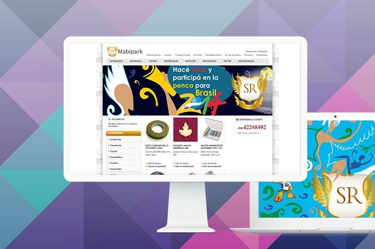 E-Commerce + Branding: Mabipark