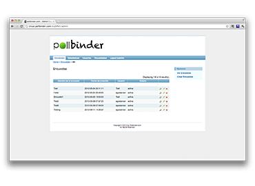 Pollbinder