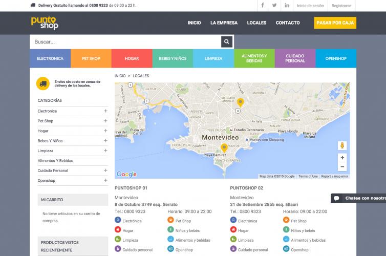 e-Commerce: Cadena Líder de Farmacias y Retail en Uruguay