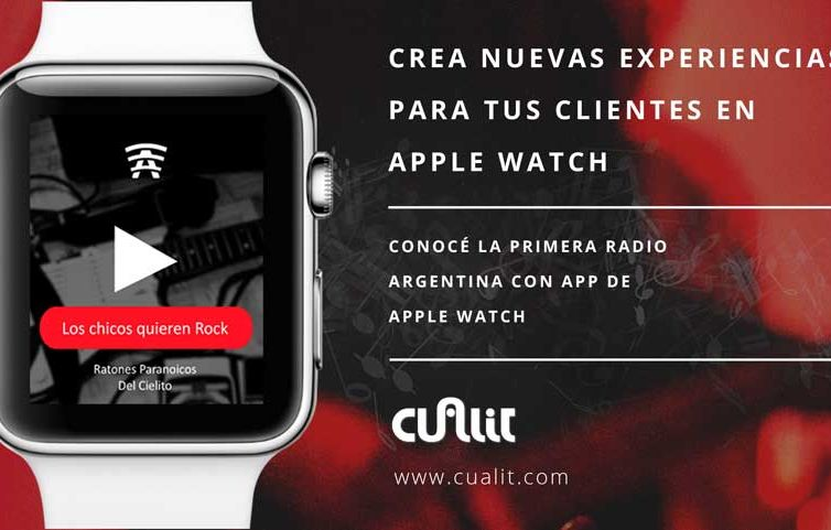 Provides new experiences for your customers at Apple Watch